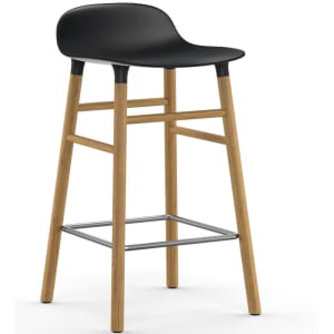 normann copenhagen form barstol sort 65cm