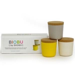 biobu gusto små oppbevaringsbokser sett 1