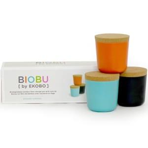 biobu gusto små oppbevaringsbokser sett 2