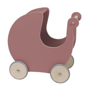 sebra dukkevogn rosa