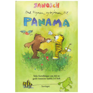 samlaget bok med tigeren og bjørnen til panama