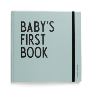 Design Letters Baby`s first book turkis