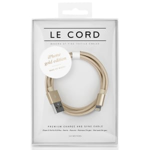 Le Cord ledning solid Gold