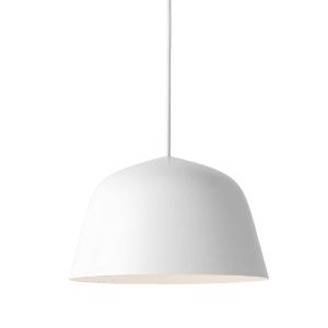 Muuto Ambit lampe hvit liten