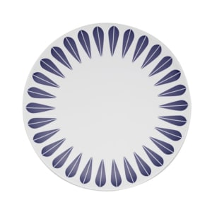 lucie kaas lotus tallerken 28cm mørk blå