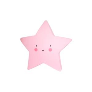 A little lovely company LED lampe stjerne rosa