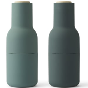 menu kvern bottle grinder dark green