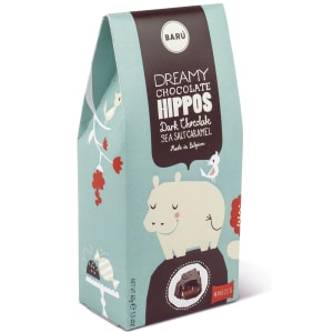 Baru dreamy hippos mørk sjokolade m/salt karamell