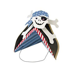 meri meri partyhatt pirat 8pk