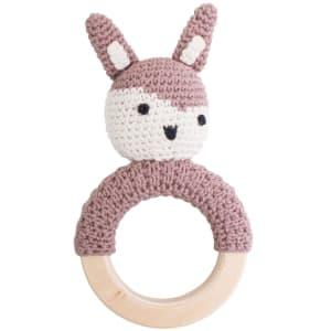 sebra rangle m/ring kanin rosa