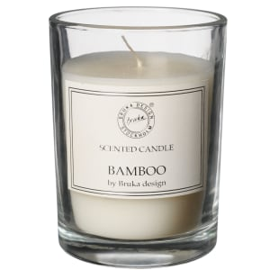 bruka design duftlys clear bamboo