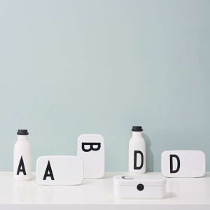 Design letters personlig matboks A - Z