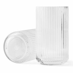 lyngby vase glass 25cm klar