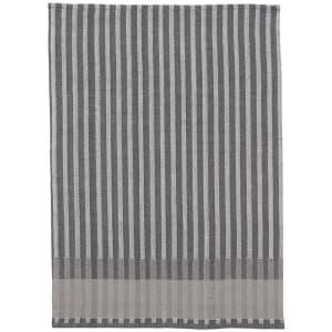 ferm living grain kjøkkenhåndkle grå
