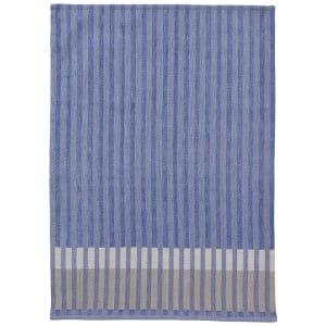 ferm living grain kjøkkenhåndkle blå