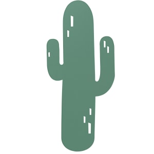ferm living lampe cactus grønn