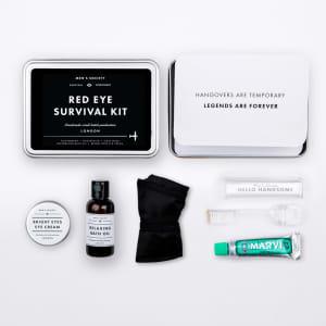 Men`s society gaveeske Red eye survival kit