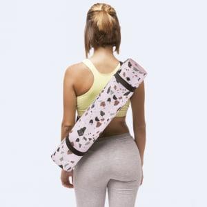 doiy yogamatte terrazzo rosa