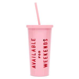 ban.do kopp med sugerør weekends