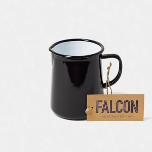 falcon mugge 11 cm sort