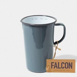falcon mugge 17 cm grå