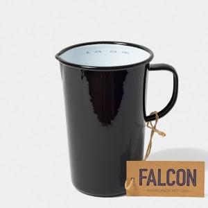 falcon mugge 17 cm sort