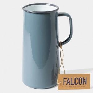 falcon mugge 23 cm grå