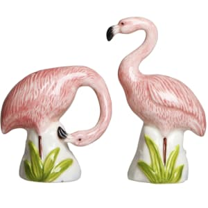 &Klevering salt og pepper flamingo