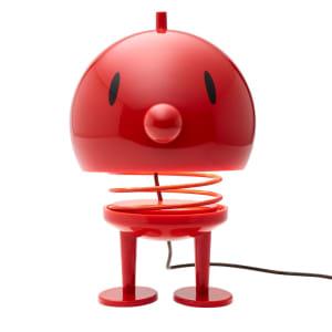 Hoptimist lampe XL rød