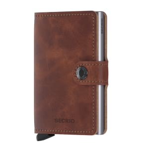 Secrid lommebok Miniwallet vintage brown