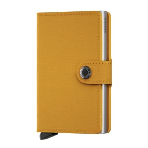 Secrid lommebok miniwallet amber