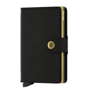 Secrid lommebok Miniwallet black gold