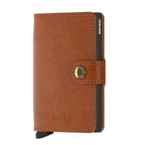 Secrid lommebok miniwallet cognac brown