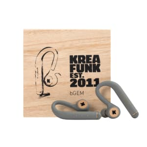 KREAFUNK bGEM cool grey Bluethooth in ear headphones