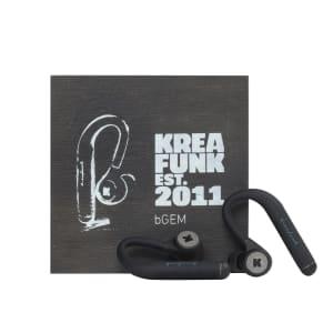 KREAFUNK bGEM black edition Bluethooth in ear headphones