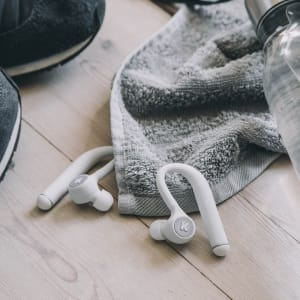 KREAFUNK bGEM white edition Bluethooth in ear headphones