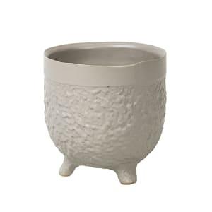 Broste Potteskjuler Raw offwhite sten H12