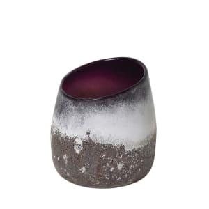 Broste Vase Broder lilla H19,3