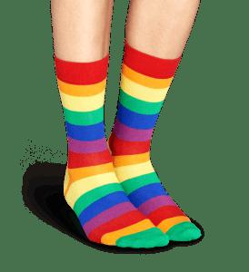 Happy socks gaveeske pride str 41-46