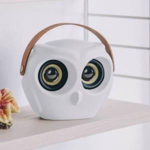 KREAFUNK aOWL Bluetooth Speaker Hvit