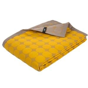 Hay Dot Quilt Sengeteppe 125x175 gult
