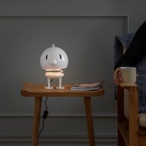 Hoptimist lampe XL hvit