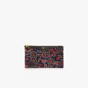 Wouf Pocket Clutch Blue Paisley