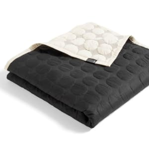 Hay Sengeteppe Mega Dot 260x260 Black/Cream