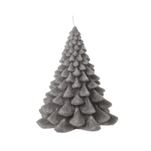 Broste Stearinlys Tre grå 15,5cm