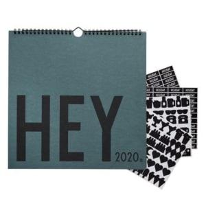 Design Letters Veggkalender 2020 Grønn