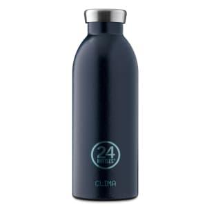 24Bottles Flaske Clima 500ml Deep Blue