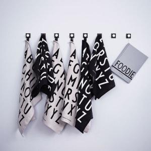 Design Letters Kjøkkenhåndkle 2 pk Hvit