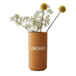 Design Letters Vase Favourite Sunshine