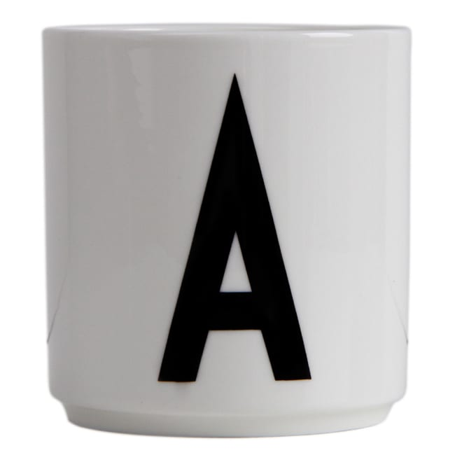 Ypperlig Design letters krus arne jacobsen A - Ø | Ting XM-51